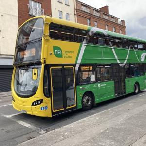 ダブリン・バスの色が変わります