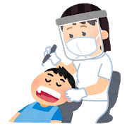 歯医者さんに行きました