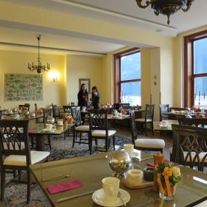 Seehotel Grüner Baum の 朝食 ~両親連れて海外旅行(オーストリア編)~