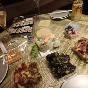 お部屋で夕食 @SORANO HOTEL(ソラノホテル)