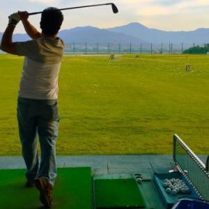 比嘉、ゴルフは飛距離じゃない=KBCオーガスタゴルフ