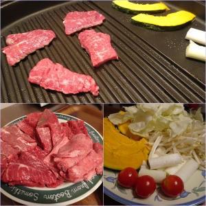 焼き肉+フープロ