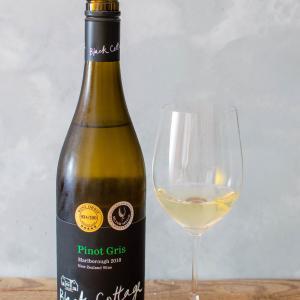 ニュージーランド-白ワイン / Black Cottage Pinot Gris 2018