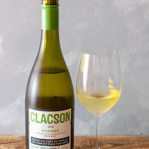 フランス-白ワイン / CLACSON VIOGNIER 2018