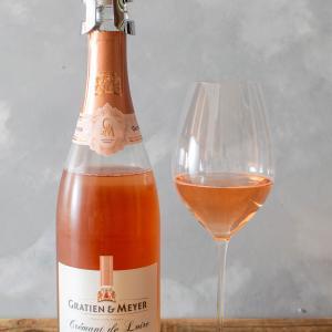 フランス-ロゼスパークリング / GRATIEN & MEYER Cremant de Loire BRUT ROSE NV