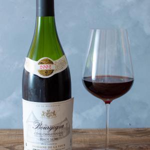 フランス-ブルゴーニュ-赤ワイン / DOMAINE DE LA TOUR Bourgogne COTE CHALONNAISE PINOT NOIR 2002