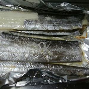 時短料理~太刀魚(たちうお)のアルミホイル焼き