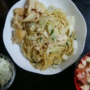 オイスターソース&炒り豆腐~1人分75円