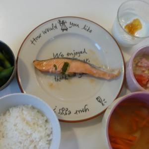 家計の内訳と水曜日の食事