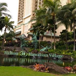 ハワイ ヒルトン ラグーンタワー泊まりました!