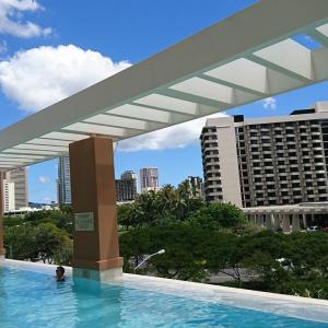 続 ハワイ ヒルトン グランドアイランダー プールについて