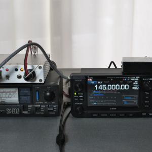 [IC-705]PTT コントロールのテスト