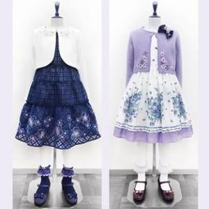 【アナスイミニ】 ANNA SUI mini 卒業式・入学式フォーマルファッション2020そろいました!