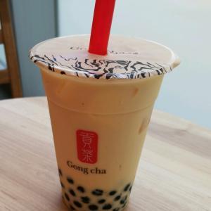 Gong chaの夏限定メニューを飲んできたよ。