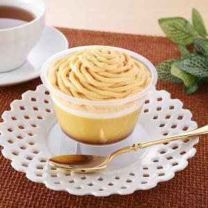 種子島産 安納芋を使用『ファミマ 安納芋のモンブランプリン』
