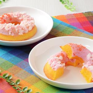 パチパチドーナツ『ローソン パッチリング -パッチパチしたしっとり焼きドーナツ-』