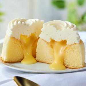 ふんわり『ローソン Uchi Café Spécialité ミルクバター露ふわケーキ(ミルクバターソース入り)』