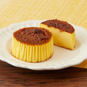 とうもろこし『ローソン バスチー -バスク風コーンチーズケーキ-』