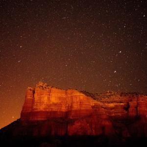 セドナで満点の星が見れるとっておきの場所