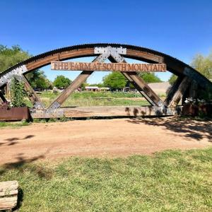 自然の中で朝食を楽しめる: ザ・ファーム (The Farm) at South Mountain, Phoenix