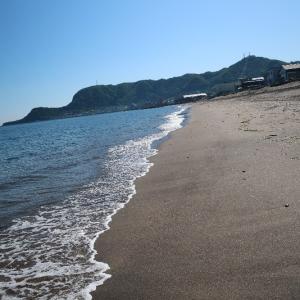 大森浜を心ゆくまで、のちカフェ・ラミネール