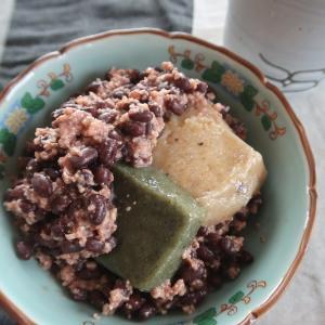 小豆と麹で発酵あんこ、自然の甘みのあんこ餅