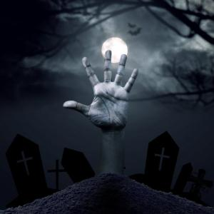 【洒落怖】13体の人骨と1体の老婆