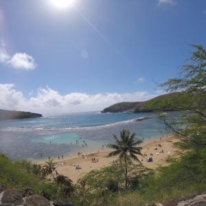ハワイのハナウマ湾でシュノーケリング!