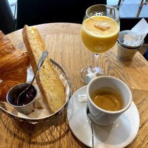 【フランス🇫🇷】パリのカフェで朝食