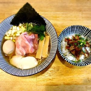 【ラーメン】寿製麺よしかわ坂戸店 淡麗煮干の超名店で頂く白醤油といわし丼!