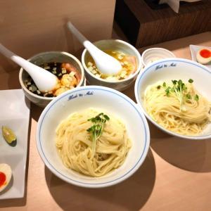 【限定】中華蕎麦あお木 夏の風物詩!二色の極上昆布水つけ麺を堪能!