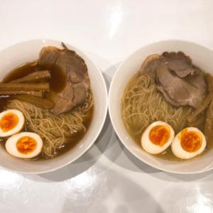 【自宅飯】燵屋製麺 醤油と塩!絶品の鶏らーめんをテイクアウトで実食!