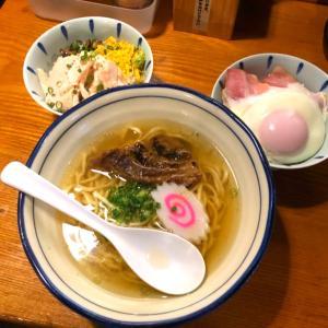 【朝ラー】地鶏ラーメン翔鶴 塩ラーメンの名店で頂く絶品朝ごはん!
