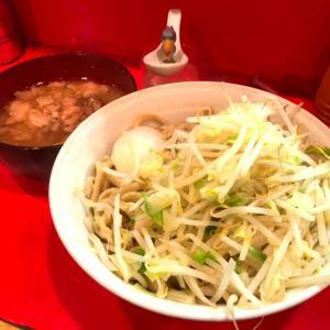 【最強】ラーメン二郎府中店 つけ麺でさらに暴れる超極太麺を堪能!