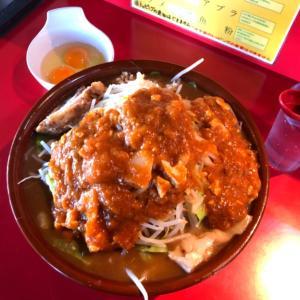 【麺増し】蒙麺火の豚 蒙古系×二郎系!唯一無二の激ウマインスパイア!