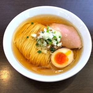 【極上】中華そばイデタ センス抜群の激ウマ淡麗塩そばと牡蠣の和えそば!