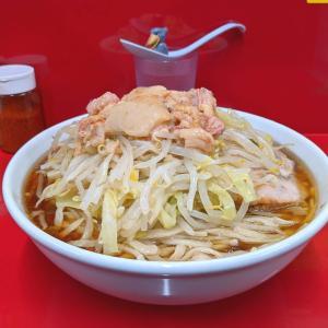 【絶品】ラーメン二郎越谷店 麺増しで改めて味わう芸術的非乳化スープ!