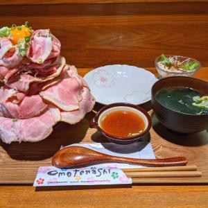 【激ウマ】食匠なる花 超絶品ローストポーク丼とぶし香る濃厚豚骨まぜそば!