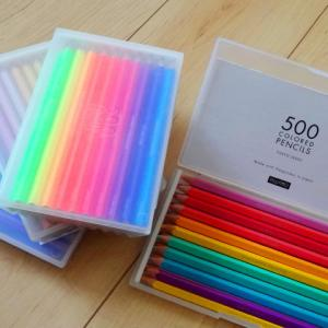 500色の色鉛筆