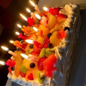【業スー】スポンジシートで豪華ケーキ