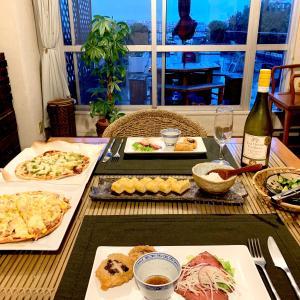 快適テレビ生活と、土曜の夜の長い食事。