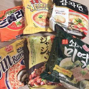 鶴橋のコリアンタウンで買った韓国インスタントラーメンを食べ比べ!おすすめはどれ?
