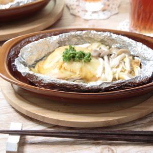【栄養士レシピ】ニジマスの旨辛!カレー風味のホイル焼き
