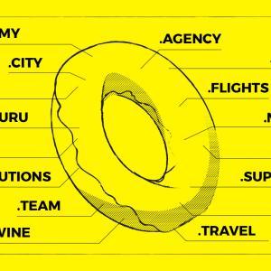 .email .media .support .travel など Donutsレジストリの割引キャンペーンが開始