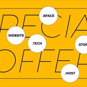 .site .tech .onlineなどRadixレジストリ提供のトップレベルドメインを割引価格で登録できます!