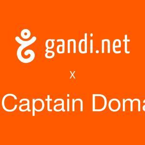 Gandi がドメインモニタリングサービスを提供する Captain Domain を企業買収、取得しました