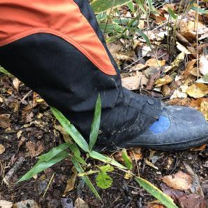 狩猟で使用している靴3点