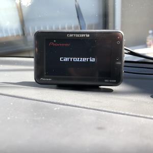 スーパーキャリイDA16TにPioneerのドラレコVREC-DS500DCを取付けた