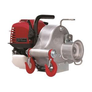 ガソリンエンジン式ポータブルロープウインチPCW3000