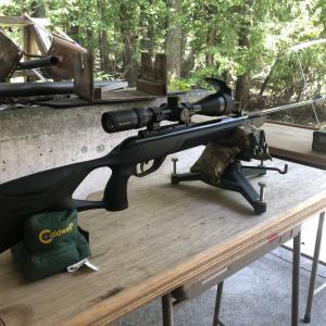 中折式空気銃 GAMO G-MAGNUM 1250 IGT MACH 1の射撃データ